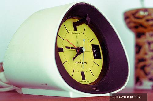 Panasonic Radio Clock from the 1960s