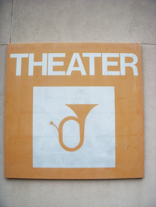 CSB Theater Signage