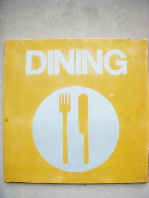 CSB Dining Signage