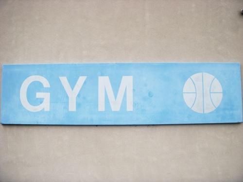 CSB Gym Signage