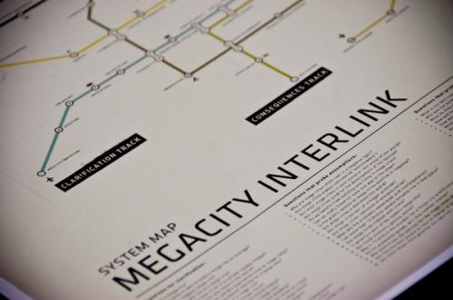 Megacity Interlink closeup