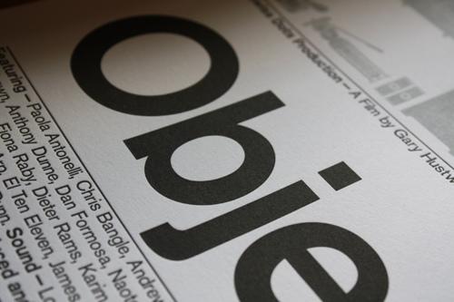 Objectified Letterpress 2